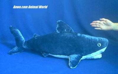 great white shark jumbo plush stuffed animal large