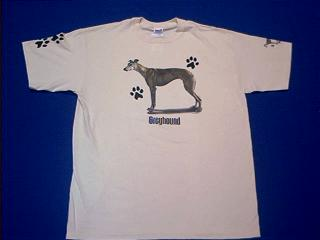 greyhound t shirt