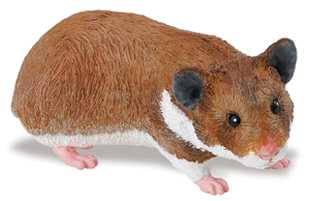 hamster toy replica