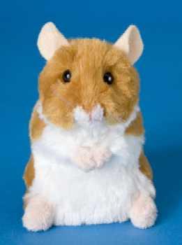 hamster stuffed animal plush brushy