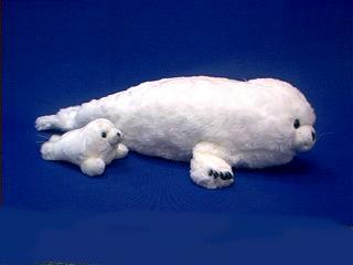 Harp Seal Plush Stuffed Animal Toy Jumbo At Anwo Com