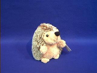 hedgehog stuffed animal