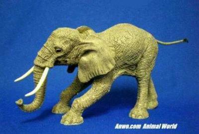 herd elephant figurine hundred