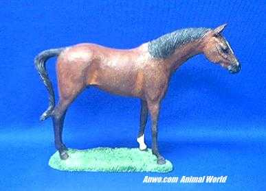 horse figurine statue standing
