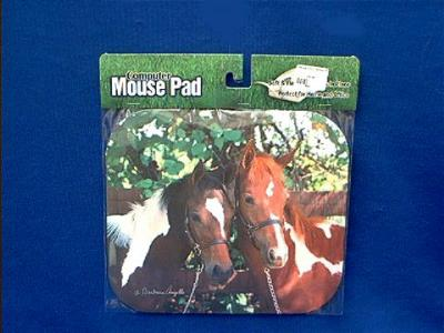 horse mousepad pair