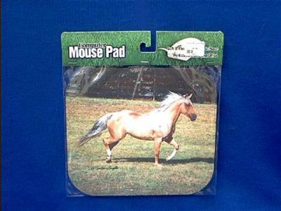 horse mousepad running