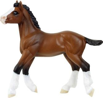 horse toy clydesdale pony
