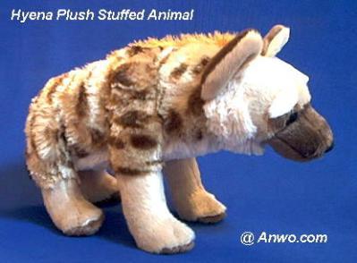 hyena plush stuffed animal cuddlekins
