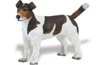 jack russell terrier toy miniature replica