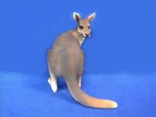 kangaroo figurine statue
