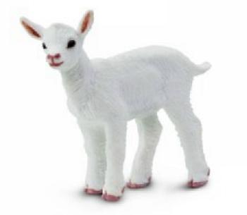 kid goat toy miniature replica