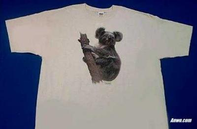 koala shirt printed in usa