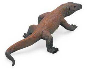 komodo dragon toy miniature replica