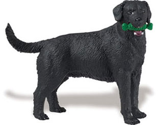 black lab toy miniature
