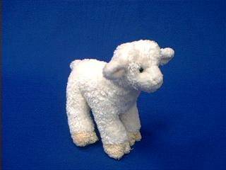 lamb plush stuffed animal small