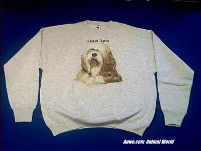 lhasa apso sweatshirt