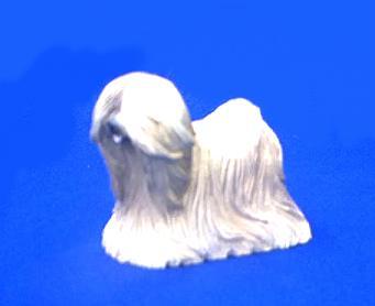 lhasa apso dog figurine