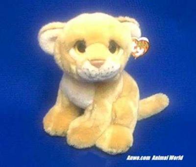 lion cub plush stuffed animal ty savanah