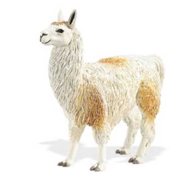 Llama Toy Miniature Replica At Anwo Animal World 174