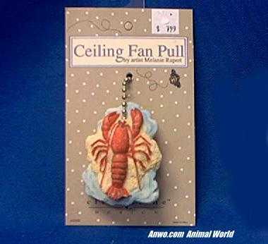 lobster ceiling fan pull
