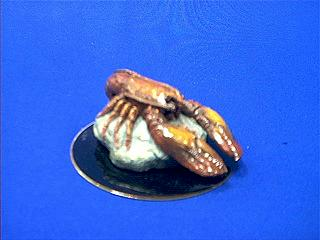 lobster figurine statue