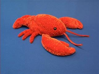 red lobster plush stuffed animal