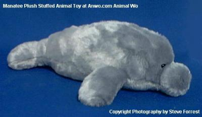manatee plush stuffed animal toy softy