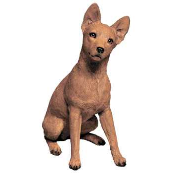 miniature pinscher figurine os481