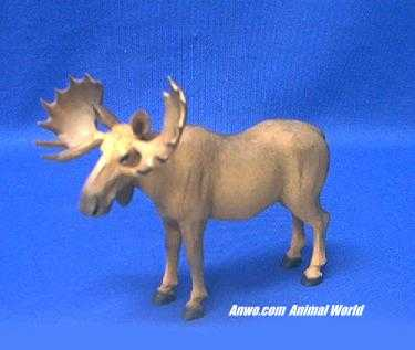 moose figurine statue