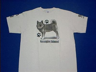 norwegian elkhound t shirt