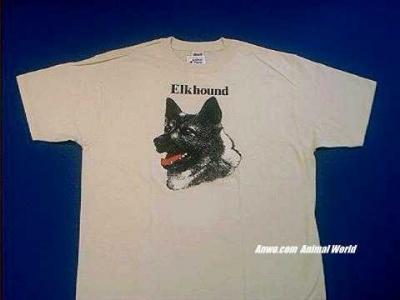 norwegian elkhound t shirt face