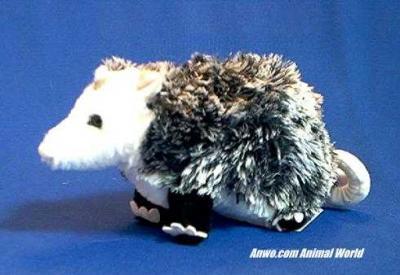 opossum plush stuffed animal small