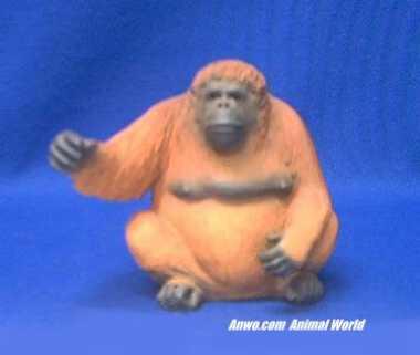 orangutan figurine statue