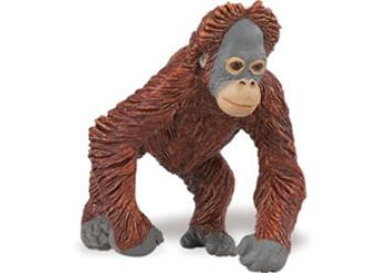 orangutan toy baby miniature replica