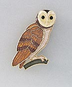 owl pin jewelry