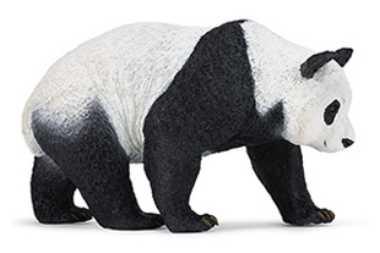 large panda toy miniature wildlife wonders