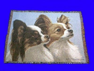 papillon blanket throw tapestry pure country