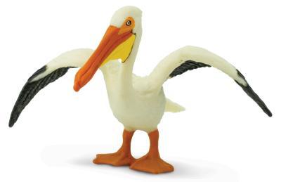 pelican toy minature replica