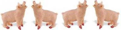 pig toy miniature good luck mini