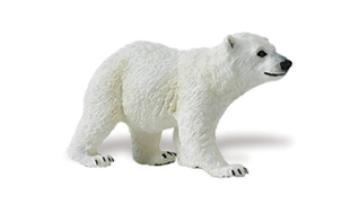 polar bear cub toy animal