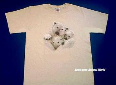 polar bear t shirt family