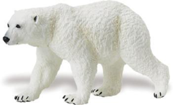 polar bear toy animal