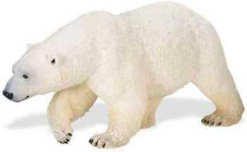 polar bear toy miniature large wildlife wonders