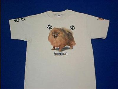 pomeranian t shirt