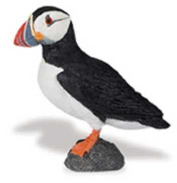 puffin toy miniature bird