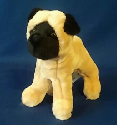 pug plush stuffed toy animal punky