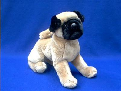 stuffed animal pug pug stuffed animal plush quot muggins quot at animal world 174 1067