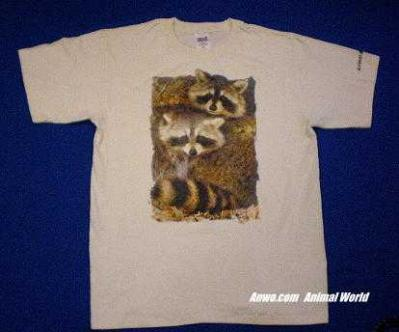 raccoon t shirt usa