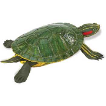 red eared slider turtle toy miniature