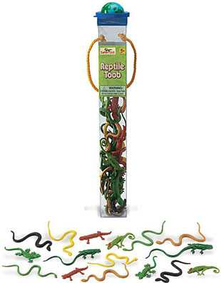 reptile toy tube assortment